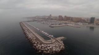 Fuengirola Spain  City new picture : Fuengirola Spain drone footage