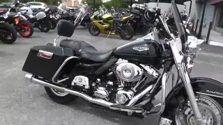 7. 663517 - 2007 Harley Davidson Road King Classic FLHRC - Used Motorcycle For Sale