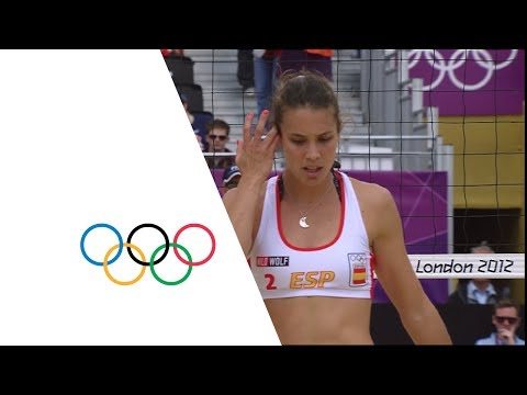 Beach Volleyball Women's Round of 16 - Spain v Italy Full Replay - London 2012 Olympic Games