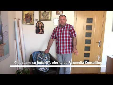 """""""Ghiozdane cu bucurii"""", oferite de Faxmedia Consulting"""