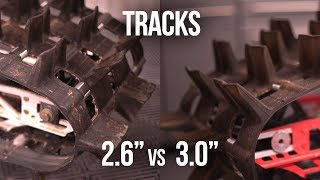 8. Which track is better 2.6 or 3.0, 155 or 163?