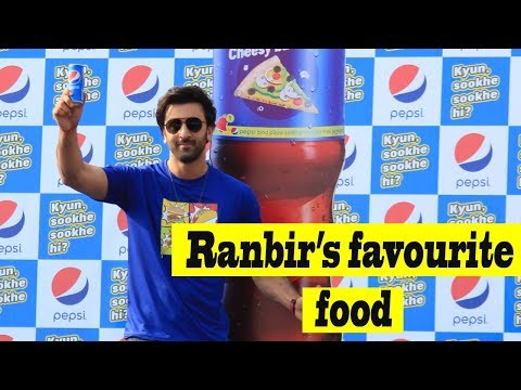 Ranbir Kapoor Brings His Favorite Foods From The Streets Of Mumbai, Along With Pepsi