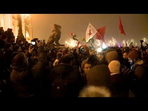 Ungarn: Zweite Demonstration gegen neues Arbeitsgesetz in Budapest