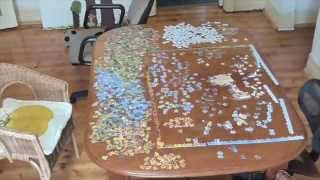 2000 Piece Puzzle Timelapse