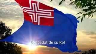 ITALIAN: Regno di Sardegnia LATIN: Regnum Sardiniae SARDINIAN: Rennu de Sardigna NATIONAL ANTHEM: