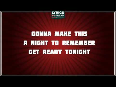 A Night To Remember - Shalamar tribute - Lyrics