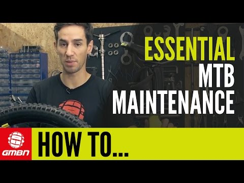 GMBN's Essential Mountain Bike Maintenance Tips