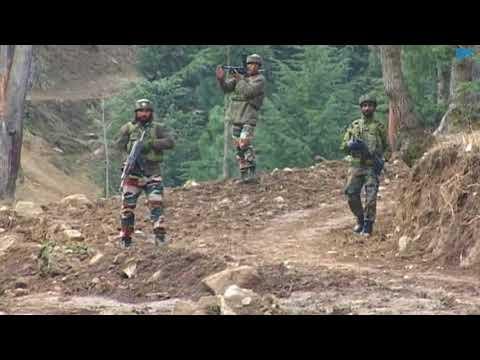 Gunfight breaks out in Halmatpora forests of north Kashmir's Kupwara