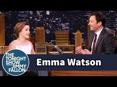 Emma Watson Once Mistook Jimmy Fallon for Jimmy Kimmel (видео)