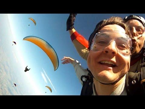 Fallschirmsprung – Wir stürzen 4000 Meter ab!