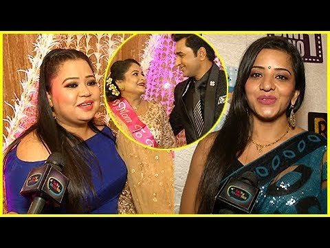 Bharti Singh, Monalisa and others At Mubeen Saudag