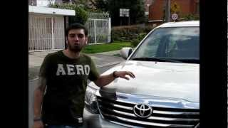 Test Drive Toyota Fortuner 2012