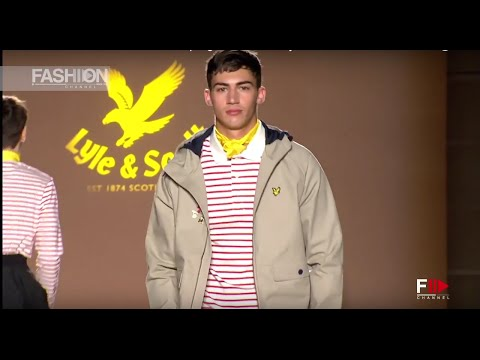 LYLE & SCOTT 080 Barcelona Fashion Spring Summer 2017 by Fashion Channel