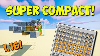 Minecraft 1.16 - ULTRA COMPACT Automatic Bee Farm!