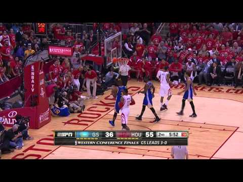NBA Highlights: Warriors @ Rockets Game 4