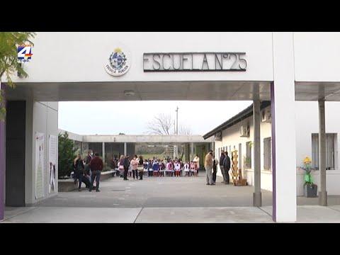 Estudian creación de centro de educación media de tiempo completo para la Escuela N° 25