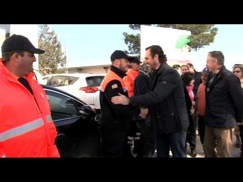 Diada dels Voluntaris de Protecció Civil d'Eivissa i Formentera a Sant Joan de Labritja