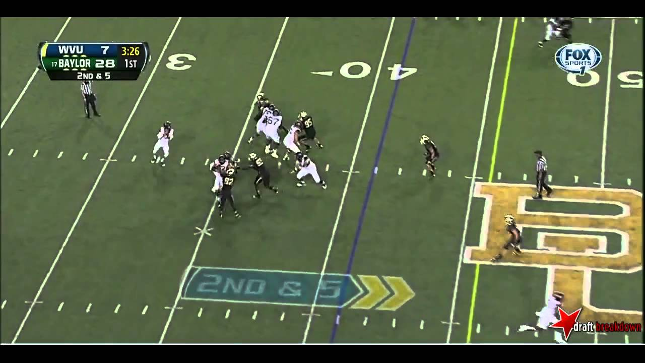 Demetri Goodson vs West Virginia (2013)