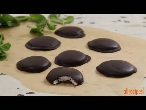 Candy Recipes – How to Make Chocolate Covered Peppermint Patties