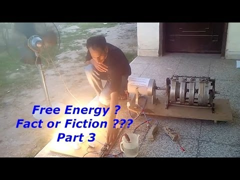 Free Energy - Fact or Fiction - Part 3 - Wasif Kahloon Selfrunning ...