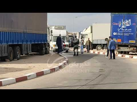 بالفيديو....الوالي لمين بنعمر رفقة وفد رفيع المستوى يزور المعبر الحدودي الكركرات
