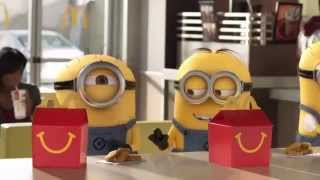 Despicable Me 2: McDonald's Happy Meal Global Commercial 2013