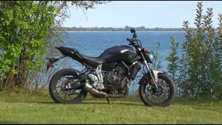 7. Yamaha FZ-07 Motorcycle Experience Road Test