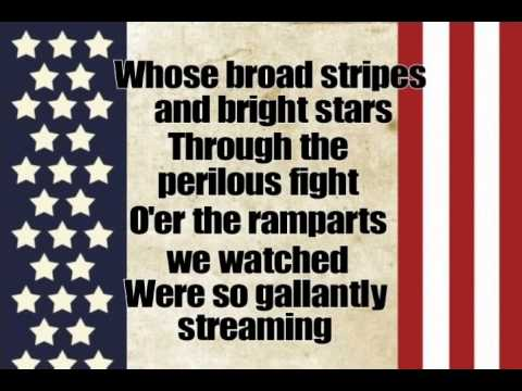 Star Spangled Banner With Lyrics