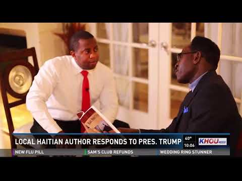 Local Haitian author responds to President Trump's alleged comments