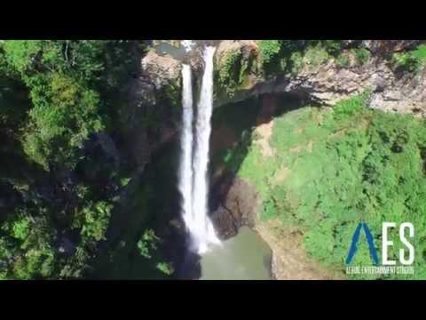 Na hraně vodopádu: Podívejte se na Mauricius
