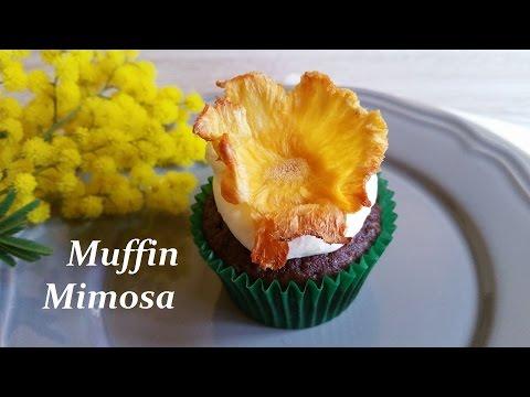muffin mimosa - ricetta dedicata alla festa della donna