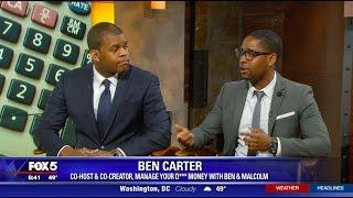 MYDM Show Co-Hosts Ben Carter and Malcolm Ethridge Appear on FOX 5 DC