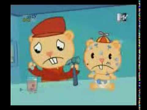 happy three friends navidad de terror.3gp