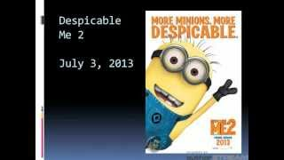Upcoming Animation Movies 2012 2013 2014 2015