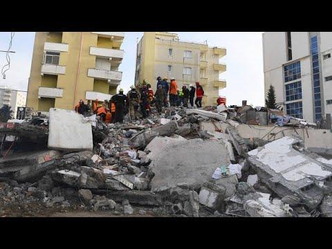 Albanien: 49 Tote - schwerstes Erdbeben seit Jahrzehn ...