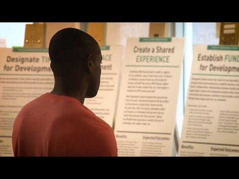 Video thumbnail: Idea marketplace explores bold ideas to shape Wright State's future