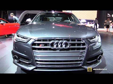 2015 Audi S6 – Exterior and Interior Walkaround – 2014 LA Auto Show