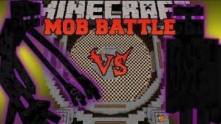 MUTANT ENDERMAN VS ENDER GUARDIAN - Minecraft Mob Battle - Mutant Creatures&The End Mods