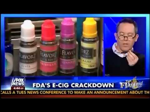 Fox News FDA Crackdown on E-Cigs