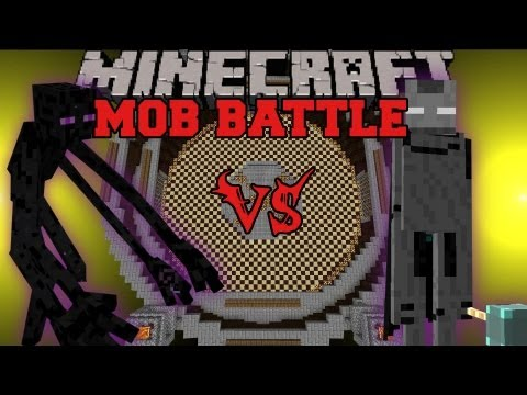 Mutant Enderman Vs. Ender Lord - Minecraft Mob Battles - Mutant Creatures and Legendary Beasts