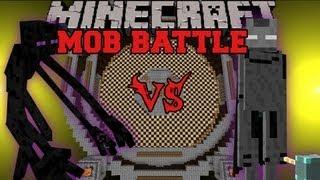 Mutant Enderman Vs. Ender Lord - Minecraft Mob Battles - Mutant Creatures and Legendary Beasts