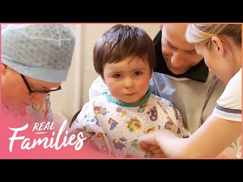 Cleft Palate Surgery To Help Little Boy Speak | Children's Hospital | Real Families with Foxy Games