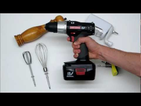 Cooking with Power Tools Cordless Drill