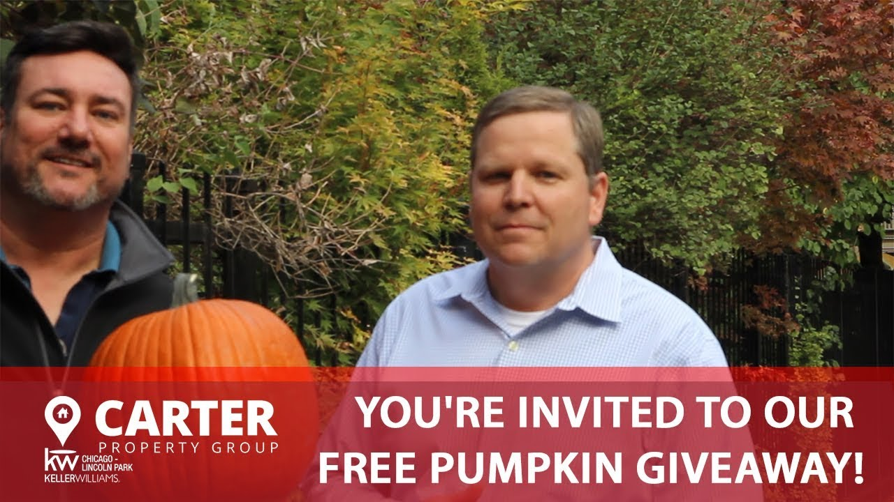 The Carter Property Group's Pumpkin Giveaway!