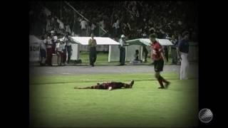 Agnaldo marcou e garantiu o título do Nordestão para o Leão na Fonte Nova.