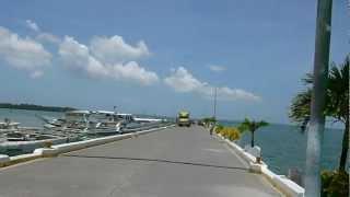 Bogo City Philippines  City pictures : Jokno's Multicab Roofcam Two Minute Tour of Bogo City Warf, Cebu, Philippines