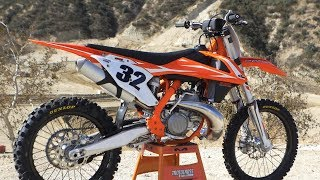1. First Ride 2018 KTM 250SX 2 Stroke - Motocross Action Magazine