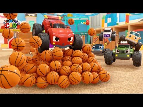 Learn Sports ball names play | nursery rhyme Kids Songs for Kids Tomoncar World 토몬카
