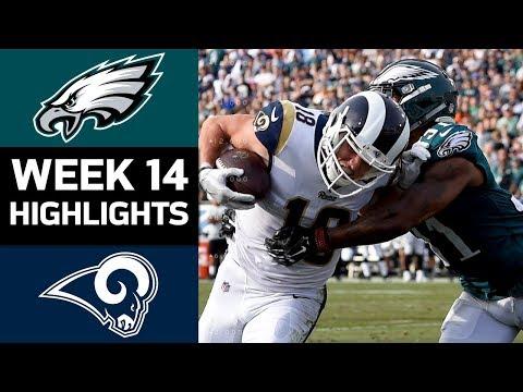 Eagles vs. Rams | NFL Week 14 Game Highlights