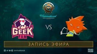 Geek Fam vs Skatemasters, The International 2017 Qualifiers [Mila]